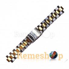 Браслет сталевий STAILER 3430 комбінований 18 мм
