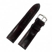 Ремешок кожаный Remeshop® «HAND MADE» 4900 коричневый темный 20 мм