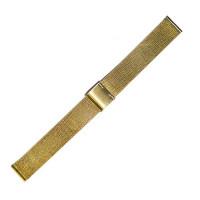 Браслет стальной Slava® 3850 золото 20 мм