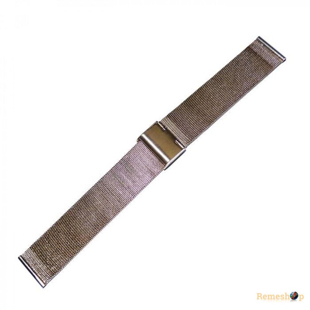 Браслет стальной Slava® 4561 розовое золото 16 мм