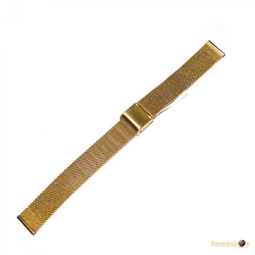 Браслет стальной Slava® 4534 BCV-06 золото 16 мм