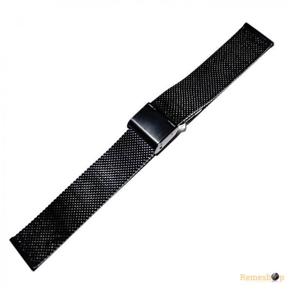 Браслет стальной Slava® 4538 BCV-06 черный 14 мм