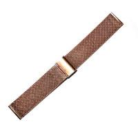 Браслет стальной Slava® 4525 розовое золото 20 мм