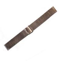 Браслет стальной Slava® 4516 розовое золото 20 мм
