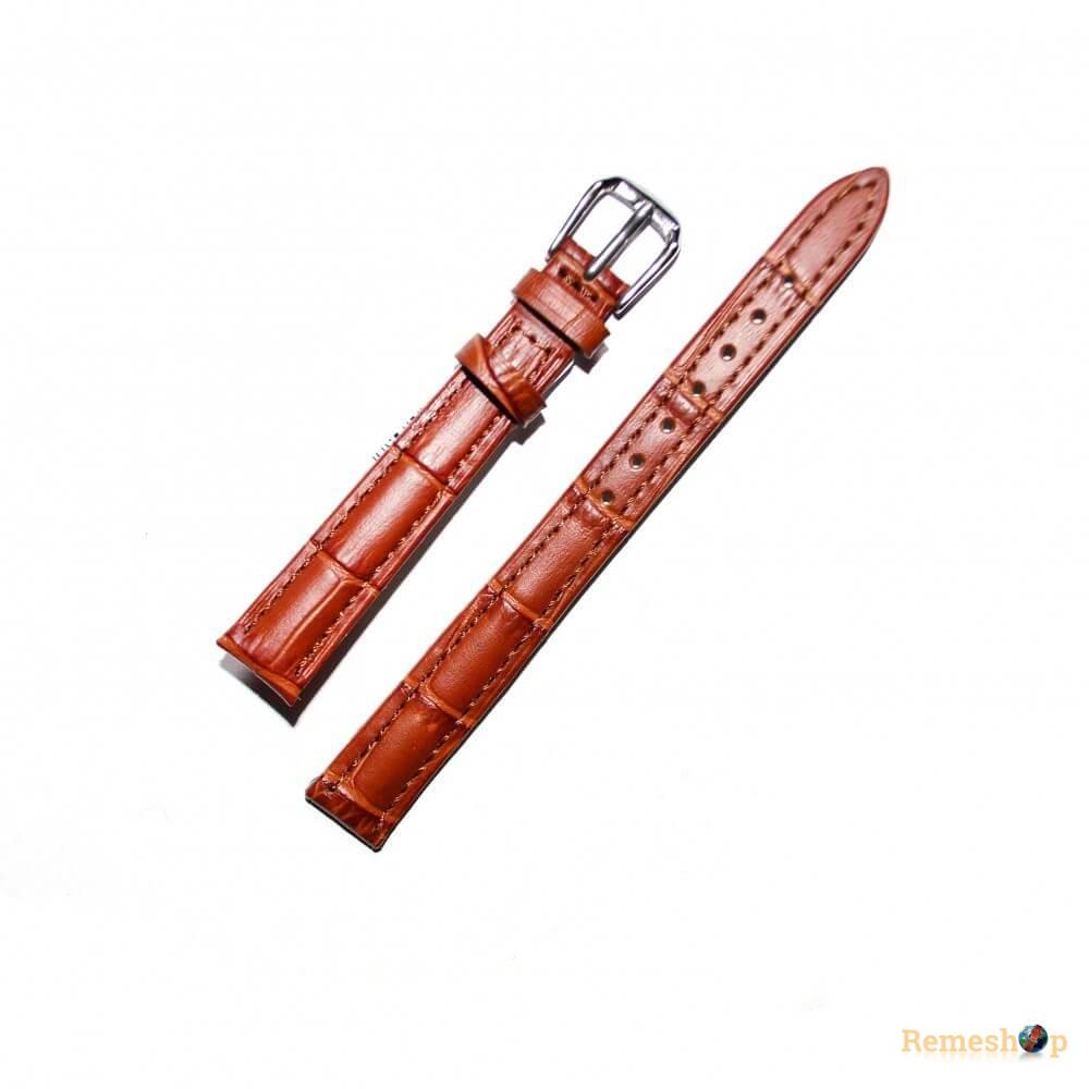 Ремешок кожаный AONO SAN 8801 0040 коричневый светлый 12 мм