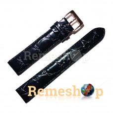 Ремешок кожаный ELEMENT 3291 черный 18 мм