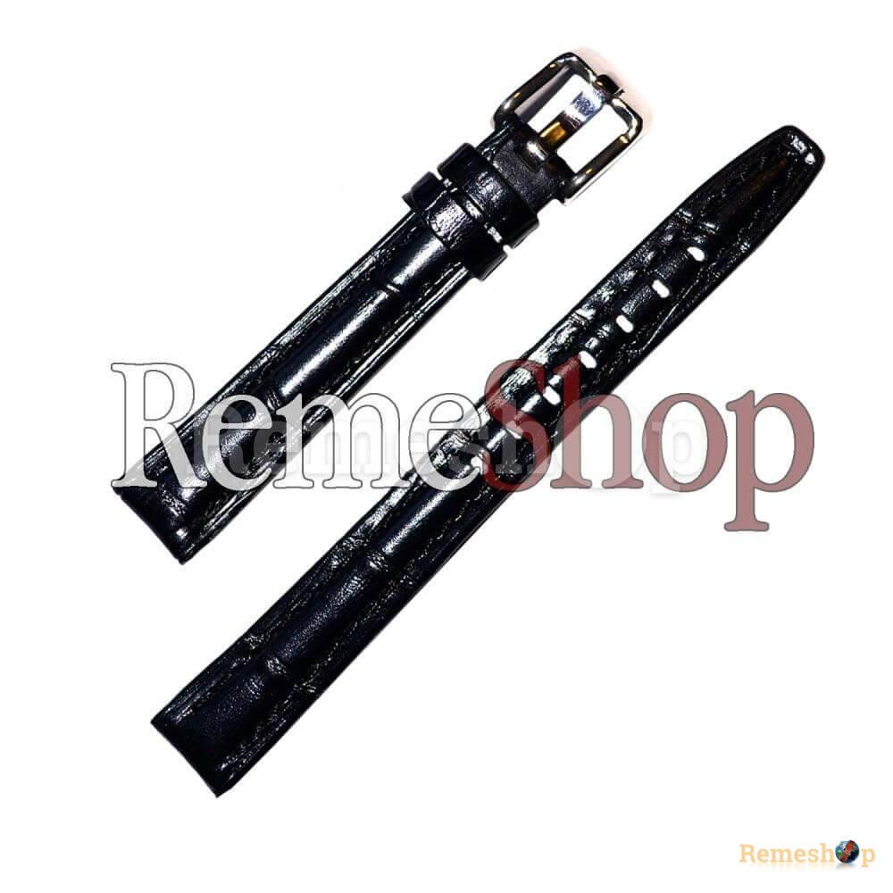 Ремешок кожаный BANDCO 80 черный 14 мм