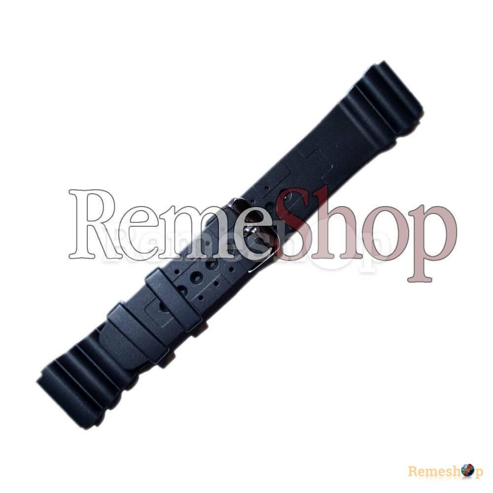 Ремешок каучуковый SPORT 2961 черный 18 мм