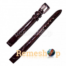 Ремешок кожаный ELEMENT 3396 коричневый темный 10 мм