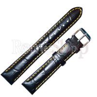 Ремешок кожаный BANDCO 9982 черный 18 мм