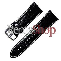 Ремешок кожаный HIHGTONE SH275 0783 черный 16 мм