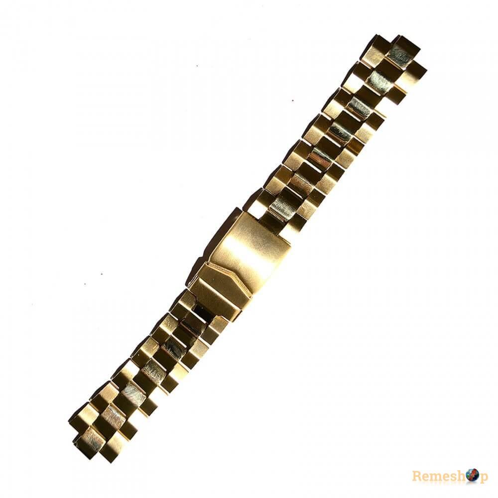 Браслет стальной STAILER 3426 <<ЗОЛОТО>> 18 мм