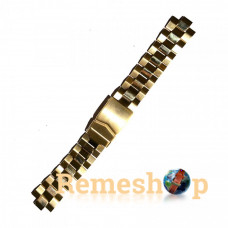 Браслет сталевий STAILER 3426 << ЗОЛОТО >> 18 мм