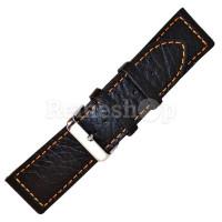 Ремешок кожаный BANDCO 220 черный 18 мм