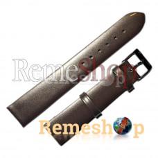 Лаковий ремінець шкіряний STAILER 1437 коричневий 08мм