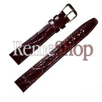 Ремешок кожаный Slava® 3058 коричневый 12 мм