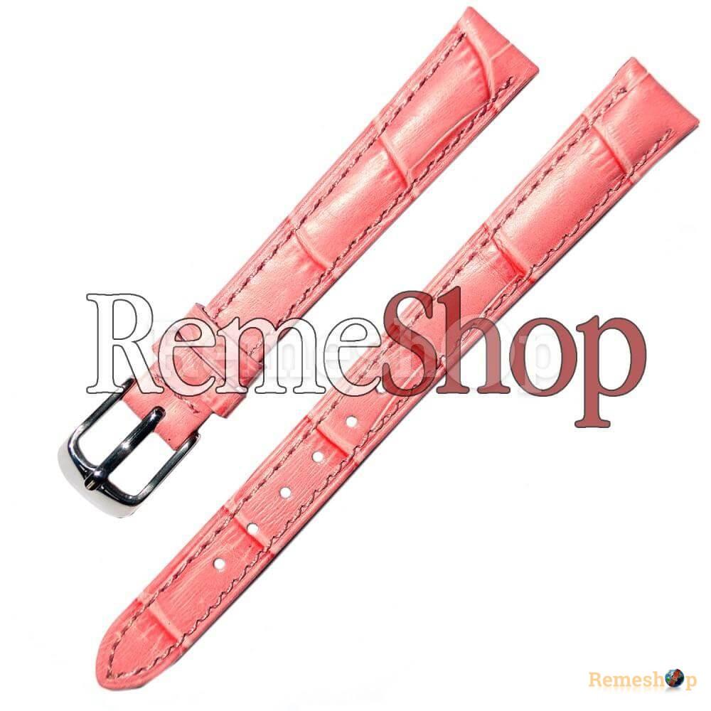 Ремешок кожаный HIHGTONE SH238 0824 розовый 12 мм