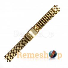 Браслет сталевий STAILER 3427 << ЗОЛОТО >> 18 мм