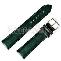 Ремешок кожаный ALFA SLF-001 0594 зеленый 22 мм