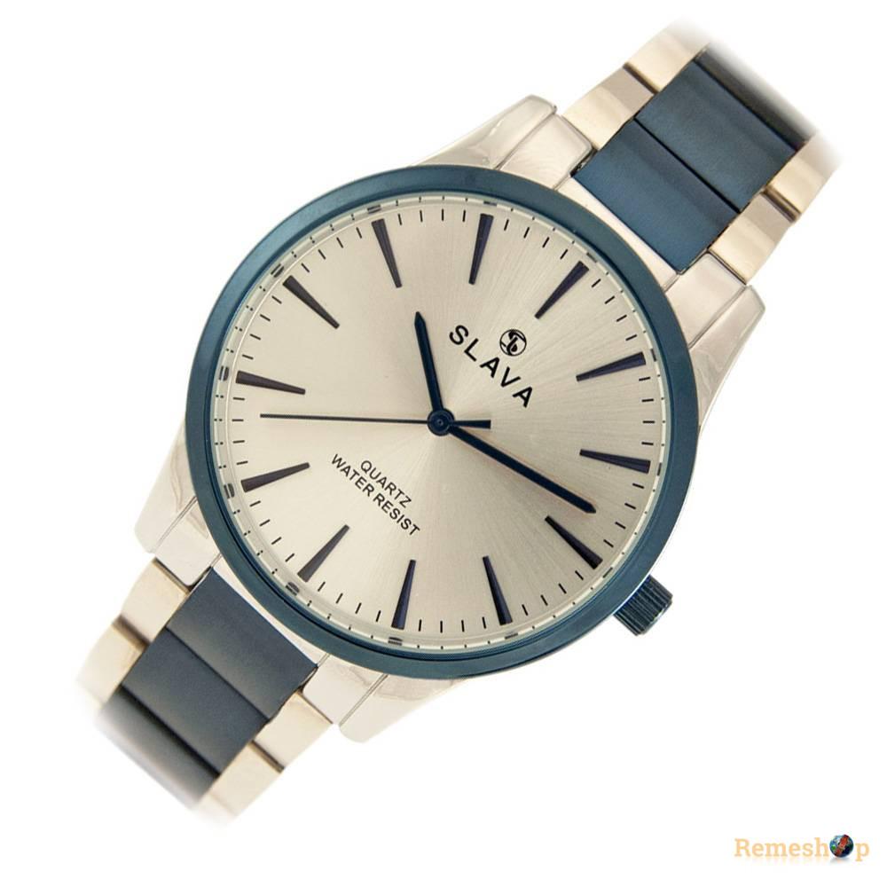Часы Slava® SL10194SBlue-W