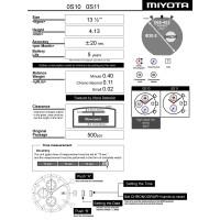 Годинниковий механізм MIYOTA  OS10