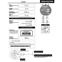 Годинниковий механізм MIYOTA  OS30