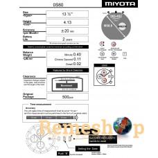 Часовой механизм MIYOTA  OS60