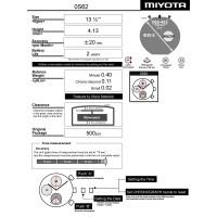 Годинниковий механізм MIYOTA  OS62
