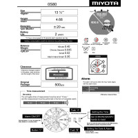 Годинниковий механізм MIYOTA  OS80