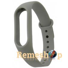 ремешок каучуковый Mi Band 2 серый арт.1300