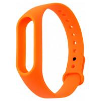 ремешок каучуковый Mi Band 2 оранжевый арт.1246