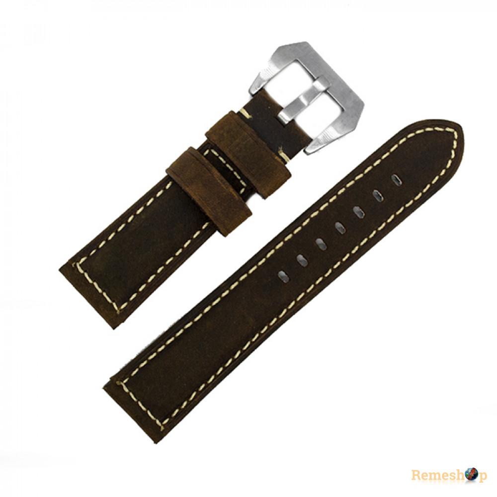 Ремешок кожаный Slava SL PAM P76.02A.22 art 5949