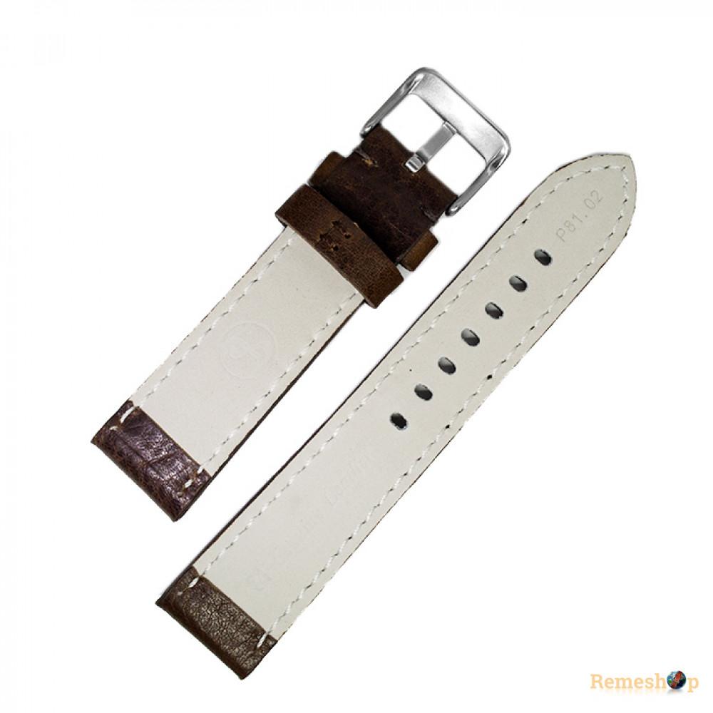 Ремешок кожаный Slava SL PAM P81.02.22 art 5956